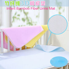 Baby Infant Mat Waterproof Cover Changing Pad Bed Diaper Durable Breathable NEW