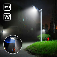 Motion Senser Weather Proof Solar Street Light With Remote for Garden Yard Farm