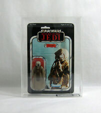 NEW 1983 Vintage Star Wars ✧ 4-LOM ✧ Kenner ROTJ 65 BK-A UKG 80/75/90 AFA CLEAR