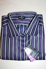 "BNWOT GENUINE PAUL SMITH PSJ LADIES STRIPED SHIRT, SIZE: 16, P2P 40"" RRP £100"
