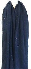 Ladies Womens Glitter Sparkle Star Dust Scarf Shawl Stole CoverUp Pashmina Style