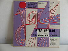 FATS WALLER with EDDIE CONDON 'S DIXIELANDERS  Oh sister ain't that hot J727