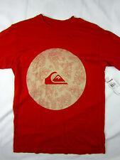 Quiksilver Surf Yardage Modern fit soft T-shirt men's brick size SMALL