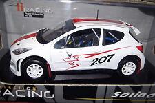 Peugeot 207 Super 2000 weiß 1:18 Solido neu & OVP 9068