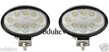 2x LED 24V 12V Proyector Spot Haz Luz 24W Offroad Barco Camioneta Pickup SUV 4x4