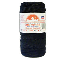 Catahoula #36 Tarred Braided Bank Line 1 lb Spool 550' 320lb Test Nylon Twine