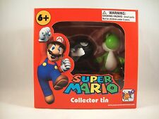 "Super Mario Collector Tin ""Bullet Bill + Yoshi"" Figuren Nintendo Figure Brothers"