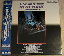 ESCAPE from NEW YORK John Carpenter 1981 Film Japan Laserdisc
