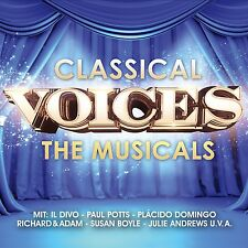 CLASSICAL VOICES - THE MUSICALS 2 CD NEU PAUL POTTS/IL DIVO/SUSAN BOYLE