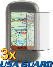 3x Garmin Dakota 20 10 Handheld GPS Navigator Clear LCD Screen Protector Guard