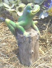 latex only frog on log mold plaster mould  concrete mold