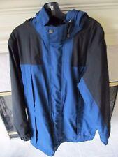 Eddie Bauer Mens Gore-Tex Waterproof Rain Full Zip Hooded Jacket Coat Sz M TALL