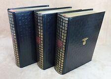 L'ORDRE DE LA NOBLESSE en 3 VOLUMES - JEAN DE BONNOT 1978 Tirage de tête  (IN-4)