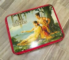 Antique PARLE'S Toffees Ram-Seeta Litho Print Tin Box Made In BOMBAY, INDIA