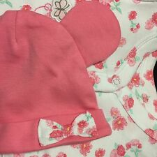 Disney Baby -  Girls Minnie Mouse Babygrow And Hat Set