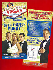 "Tony Danza ""HONEYMOON IN VEGAS"" Rob McClure / Jason Robert Brown 2015 Flyer"