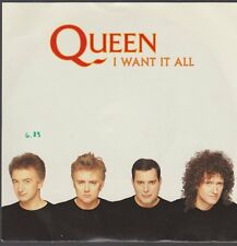"7"" Single Queen I Want It All / Hang On In There 80`s EMI Electrola"