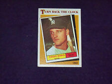 roger maris (new york yankees- of) 1986 topps turn back clock CARD #405 nr/mint