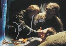 2001 Inkworks Andromeda card #55 signed by Dylan Hunt ~ Kevin Sorbo