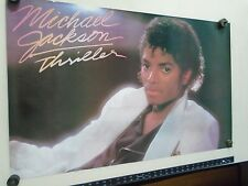 Michael Jackson / Vintage Thriller 80's poster /  Exc.new cond. / 22x35""