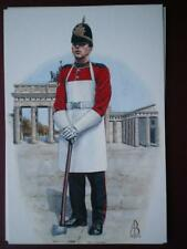 POSTCARD THE QUEENS LANCASHIRE REGIMENT -BERLIN - ASSAULT PIONEER  ALIX BAKER