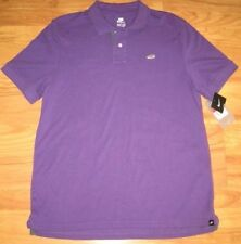 NIKE PIQUE SHOE POLO SHIRT AIR MAX collection purple XXL 2X GOLF CASUAL 2XL