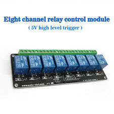 SRD-DC5V-SL-C DC5V High 8 Channel Trigger The Relay Module Control Relay Module