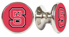 NORTH CAROLINA STATE WOLF PACK DRAWER PULLS / KNOBS
