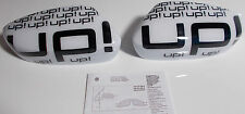 NEW GENUINE VW UP! accessory wing mirror cover trims - white 1S0 072 530 A