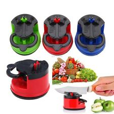 Pad Sharpening Suction Grinder Chef Knife Sharpener Secure Home