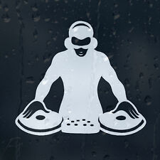 DJ Car Decal Vinyl Sticker For Window Or Panel Or Bumper