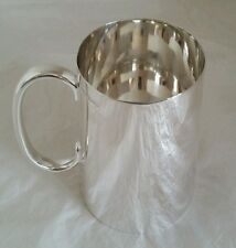 A Sterling silver pint Mug / Tankard. Sheffield 1921.By James Dixon & Sons Ltd