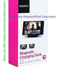 GENUINE SONY XPERIA Z3 & Z3 COMPACT-MAGNETIC DESKTOP CHARGING DOCK DK48 Retail