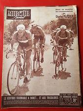 23/07/51 miroir sprint n°267 TOUR DE FRANCE 1951 LES ETAPES BOBET KOBLET