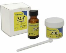 Prime Dental Temporary Cement - Zinc Oxide Eugenol - Filling Adhesive - Material