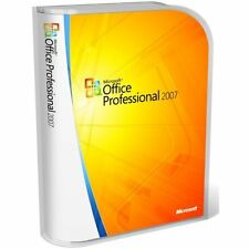MICROSOFT OFFICE PROFESSIONAL 2007 COMPLETE INSTALLATION SOFTWARE - 5 USER/PC
