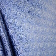 Swavelle Mill Creek Nabil Nautical Blue White Scroll Outdoor Fabric