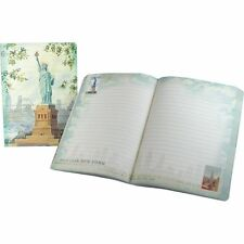 Punch Studio Everyday Travel Soft Cover Journals – Lady Liberty Painting 45511