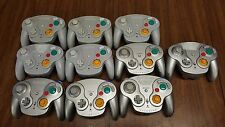 LOT of 9 Nintendo GameCube WAVEBIRD Wireless Controllers *TESTED WORKING*