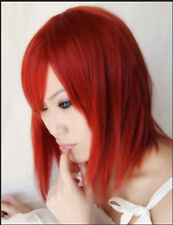 NEW Cute Short Kingdom Heart Kairi Red Wigs Cosplay Party Costume Wig MW2