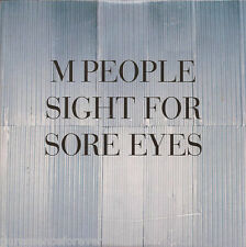 M PEOPLE - Sight For Sore Eyes (UK 4 Trk CD Single)