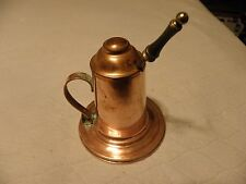 Vintage copper lidded container