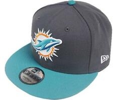 New Era NFL Miami Dolphins Graphite Snapback Cap M L 9fifty Limited Edition New