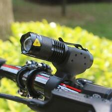 1200lm Cree Q5 LED Cycling Bike Bicycle Head Front Light Flashlight+360 Mount BK