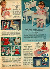 1965 ADVERT Ideal Doll Betsy Baby Baby Nancy Teary Deary Thirstee Tears Negro
