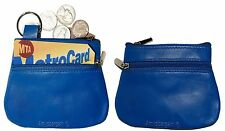 New Women's Leather Change Purse coin bag Women's Wallet bag mini Pouch bnwt