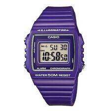 Casio W215H-6A Purple Digital Watch W-215H-6A