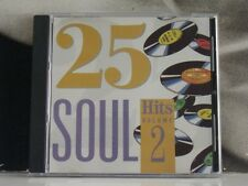 25 SOUL HITS VOLUME 2 CD VERY GOOD+ COVER EXCELLENT- VOL. TWO