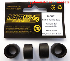 M002 mitoos Racing neumáticos X4-S2 - 18 X 10.5 mm-Nuevo