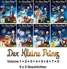 Der Kleine Prinz - Vol. 1 - 8, 8x3 Geschichten (KIKA | ARD | ZDF) DVD NEU + OVP!